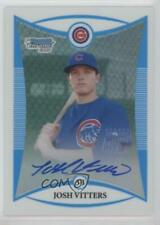 2008 Bowman Chrome Prospects Refractor #BCP115 Josh Vitters Chicago Cubs Auto