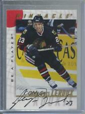 1997 Pinnacle Be A Player Autographs Autographed #45 Jean-Yves Leroux Auto Card