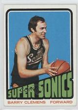 1972-73 Topps #57 Barry Clemens Seattle Supersonics Basketball Card