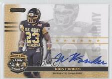 2010 Razor US Army All-American Bowl Autographs #BA-NF1 Nick Forbes U.S. Auto