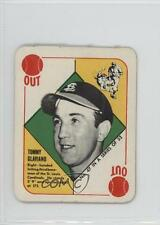 1951 Topps Red Backs #47 Tommy Glaviano St. Louis Cardinals RC Baseball Card