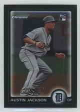 2010 Bowman Chrome #188 Austin Jackson Detroit Tigers RC Rookie Baseball Card