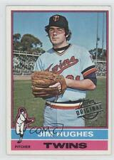 2015 Topps Original Buybacks #1976-11 Jim Hughes Minnesota Twins Baseball Card
