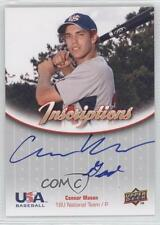 2009 Upper Deck USA Baseball #IN18U-CM Connor Mason Team (National Team) Auto