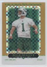 2005 Topps Chrome Gold X-Fractor #257 Mike Nugent New York Jets Football Card