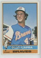 1976 Topps #153 Buzz Capra Atlanta Braves Baseball Card