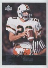 2011 Upper Deck College Football Legends #30 Bernie Kosar Miami Hurricanes Card
