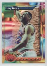 1993 Topps Finest Refractor #51 Larry Nance Cleveland Cavaliers Basketball Card