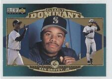 1997 Upper Deck Collector's Choice Clearly Dominant #CD3 Ken Griffey Jr Jr. Card