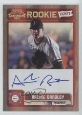 2011 Playoff Contenders Rookie Tickets Signatures #RT15 Archie Bradley Auto Card