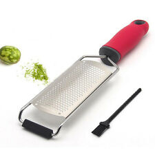 Stainless Steel Lemon Fruit Zester Chocolate Cheese Grater Peeler Kitchen Gadget