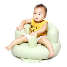 Safety Baby PVC Sofa Inflatable Stool Training seat Bath Dining Chair Seat2Color