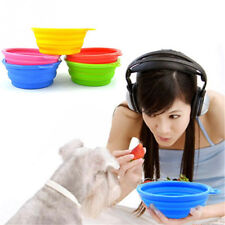 Pet Products Silicone Bowl Feeder Folding Portable Dog Cat Drinking Water Bowls