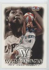 1999 WNBA Hoops Skybox 55 Coquese Washington New York Liberty (WNBA) Rookie Card