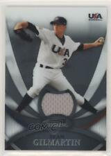 2010 Bowman Sterling USA Baseball Relics #USAR-28 Sean Gilmartin Rookie Card