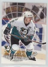 2000 Topps Premier Plus Team #PT1 Paul Kariya Anaheim Ducks (Mighty of Anaheim)