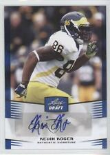 2012 Leaf Draft Autographs Blue #KK1 Kevin Koger Michigan Wolverines Auto Card