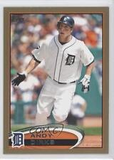 2012 Topps Gold #644 Andy Dirks Detroit Tigers Baseball Card