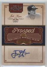 2011 Playoff Prime Cuts Prospect Signatures #JH Jake Hager Tampa Bay Rays Auto