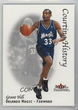 2000-01 Fleer Tradition Courting History #3CH Grant Hill Orlando Magic Card