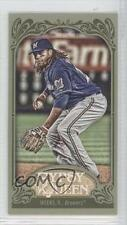 2012 Topps Gypsy Queen Mini Green #324 Rickie Weeks Milwaukee Brewers Card