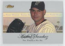 2007 Topps Finest Rookie Moments Refractor #RFM-AS Anibal Sanchez Miami Marlins