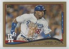 2014 Topps Gold 552 Checklist (Yasiel Puig) Los Angeles Dodgers Yasiel Puig Card