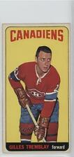 1964-65 Topps #2 Gilles Tremblay Montreal Canadiens Hockey Card