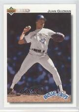 1992 Upper Deck #625 Juan Guzman Toronto Blue Jays RC Rookie Baseball Card