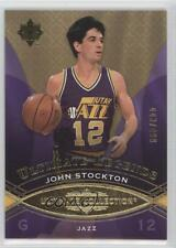 2008-09 Ultimate Collection #105 John Stockton Utah Jazz Basketball Card