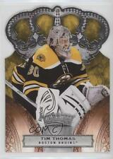 2010-11 Panini Crown Royale #9 Tim Thomas Boston Bruins Hockey Card