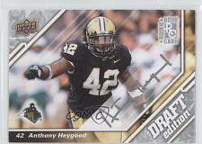 2009 Upper Deck Draft Edition Autographs Autographed #65 Anthony Heygood Auto