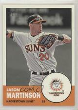 2012 Topps Heritage Minor League Edition 50 Jason Martinson Hagerstown Suns Card