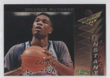 1995 Classic Superior Pix Instant Impact 5 Dikembe Mutombo Georgetown Hoyas Card