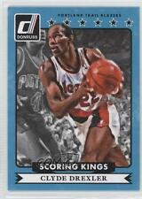 2014 Panini Donruss Scoring Kings #35 Clyde Drexler Portland Trail Blazers Card