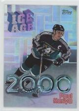 1998-99 Topps Ice Age 2000 I1 Paul Kariya Anaheim Ducks (Mighty of Anaheim) Card