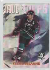 1999 Topps All-Topps #AT14 Teemu Selanne Anaheim Ducks (Mighty of Anaheim) Card