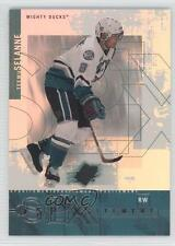 2000-01 SPx SPXcitement #X1 Teemu Selanne Anaheim Ducks (Mighty of Anaheim) Card