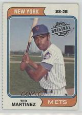 2015 Topps Original Buybacks #1974-487 Ted Martinez New York Mets Baseball Card