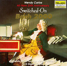Switched-On Bach 2000 by Wendy Carlos (CD, Jul-1992, Telarc Distribution)