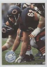 1991 Pro Set Platinum #12 Mark Bortz Chicago Bears Football Card