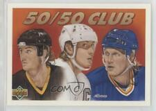 1991 Upper Deck #45 Mario Lemieux Wayne Gretzky Brett Hull St. Louis Blues Card