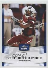 2012 Leaf Draft Blue #45 Stephon Gilmore South Carolina Gamecocks Football Card