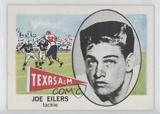 1961 Nu-Cards Football Stars #147 Joe Eilers Texas A&M Aggies Rookie Card