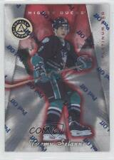 1997-98 Pinnacle Totally Certified Red Platinum #39 Teemu Selanne Hockey Card