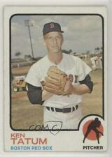 1973 Topps #463 Ken Tatum Boston Red Sox Baseball Card
