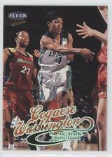 1999-00 Fleer Ultra WNBA #4 Coquese Washington New York Liberty (WNBA) RC Card