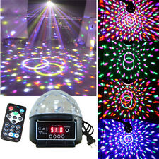 Mini Stage Projector Lighting Star DJ Disco Light R&G Party Laser Show Lamp