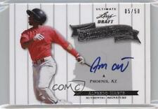 2012 Leaf Ultimate Draft Heading to the Show #HS-AM1 Alfredo Marte Auto Card