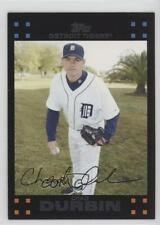 2007 Topps Updates & Highlights Red Back #UH48 Chad Durbin Detroit Tigers Card